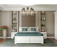 Спальный гарнитур Омега белая