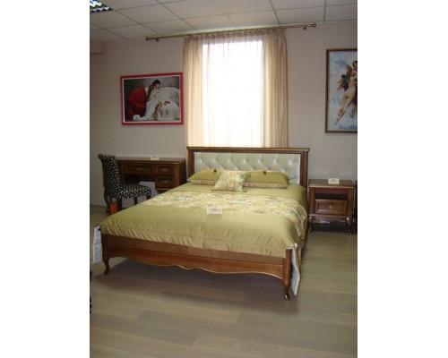 Кровать Альматея (прямое мягкое изголовье)