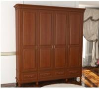 Шкаф Омега Комфорт 4-х дверный с ящиками