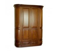 Шкаф Омега 4-х дверный с ящиками (2 круглых, 2 прямых)
