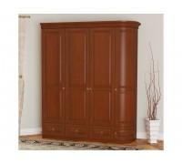 Шкаф Омега 4-х дверный однобокий