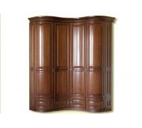 Шкаф Омега 4-х дверный угловой