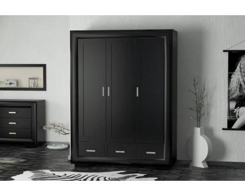 Шкаф Магия чисел 3-х дверный с ящиками