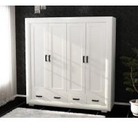 Шкаф Магия чисел 4-х дверный с ящиками