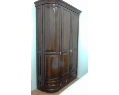 Шкаф Омега 3-х дверный однобокий