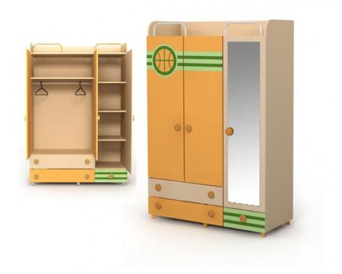 Шкаф Active 3-х дверный 03