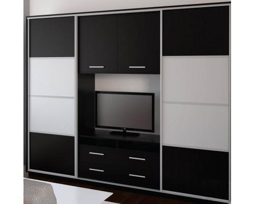 Шкаф-купе под телевизор К23